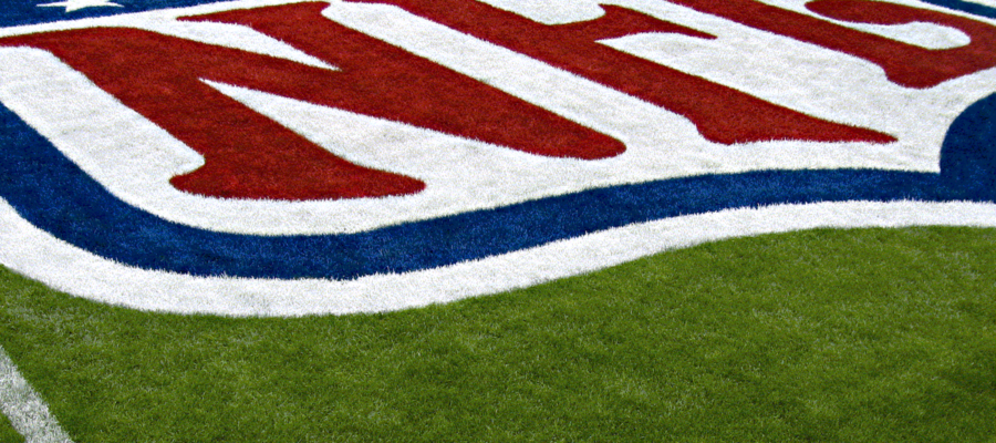 NFL Logo on Field