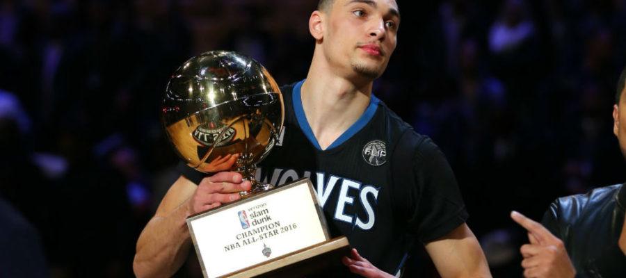 2016 NBA Dunk Contest Champion - Zach LaVine