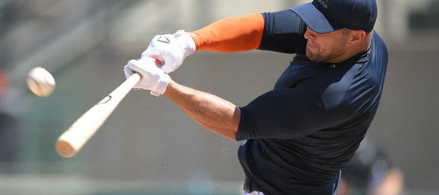 Tim Tebow Baseball Swing